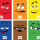 Plakati za M&M bombone