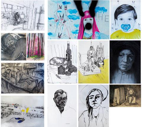 Otvaranje izložbe crteža studenata ALUM-a