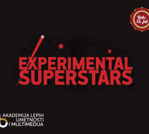 Audio-vizuelni konkurs Experimental Superstars