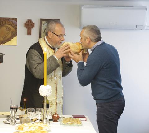 Na Fakultetu obeležena krsna slava Aranđelovdan