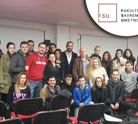 Holivudski glumac o inostranoj karijeri sa studentima FSU