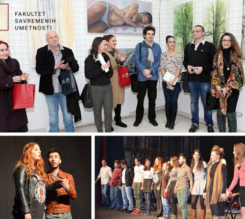 Studenti i profesori na Festivalu praizvedbi u Aleksincu