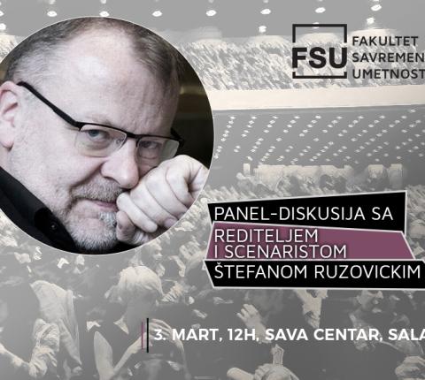Dođite na panel-diskusiju sa Štefanom Ruzovickim