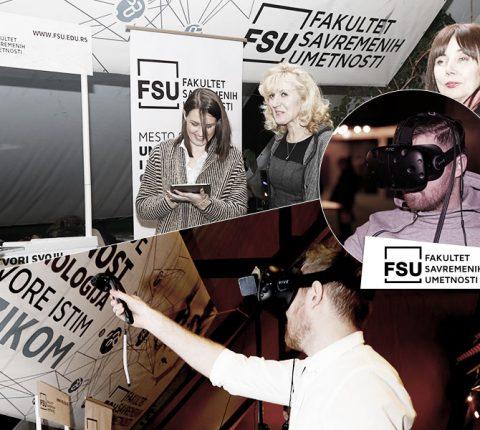 FSU hit na FEST-u: 3D crtanje u virtuelnoj realnosti oduševilo posetioce