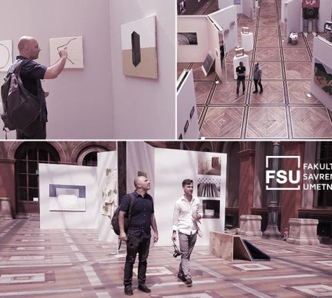 """Profesori FSU na izložbi studenata čuvene Akademije """"Beaux-arts"""" u Parizu"""