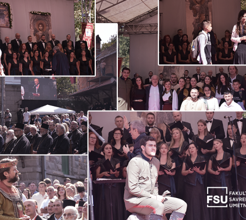Studenti FSU uveličali jubilej manastira Kamenac