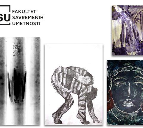 """Radovi studenata slikarstva sa FSU u galeriji Stambol kapije: Posetite izložbu """"Vreme novih sadržaja"""""""