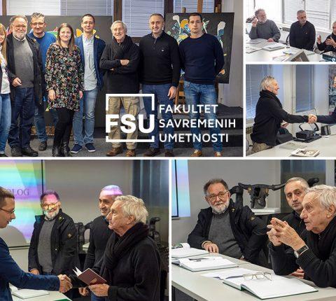 Uspešno odbranjeni doktorski umetnički projekti na FSU