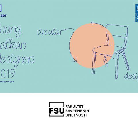 """Učestvujte na ovogodišnjem konkursu """"Young Balkan Designers 2019""""– Tema  je """"Cirkularni dizajn"""""""