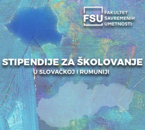 Stipendije za studiranje u Rumuniji ili Slovačkoj