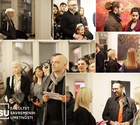 """Otvorena izložba profesora i studenata FSU u Galeriji """"X Vitamin"""" (FOTO)"""