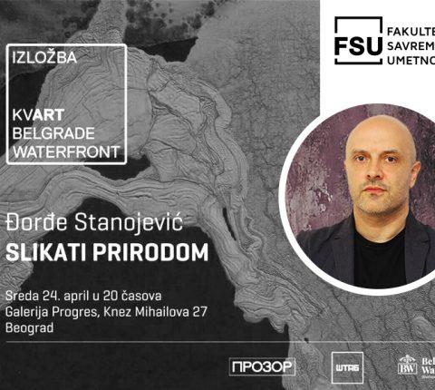 """Izložba profesora Đorđa Stanojevića """"Slikati prirodom"""" u Galeriji """"Progres"""""""