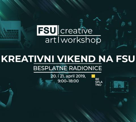 Održane kreativne radionice na FSU: Mnogo zabave, umetnosti i zajedničkih projekata