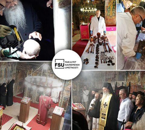 SAŠA FILIPOVIĆ, DEKAN FSU U MISIJI OČUVANJA KOSOVSKE BAŠTINE