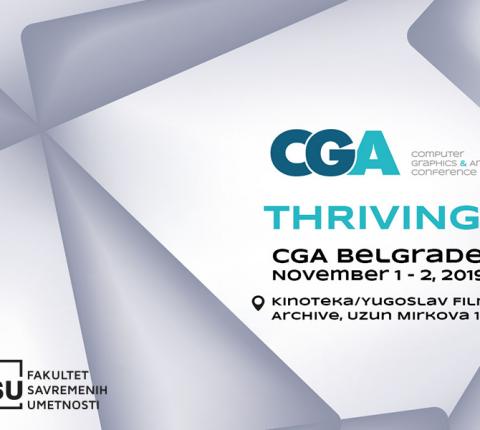 Budi deo ovogodišnje CGA konferencije i učestvuj u specijalnom programu za studente