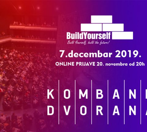 "Seminar ""Build Yourself"" u Kombank dvorani 7. decembra"
