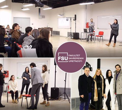 More than 100 students attend masterclass given by famous actress Sloboda Mićalović
