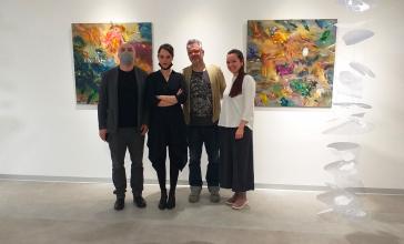 3 umetnika - 3 izložbe
