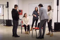Studenti FSU uče glumačke tehnike