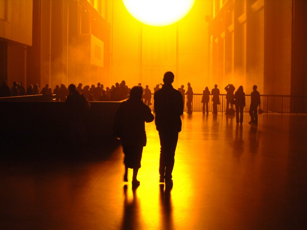 Olafur Eliasson, The Weather Project, Tate Modern