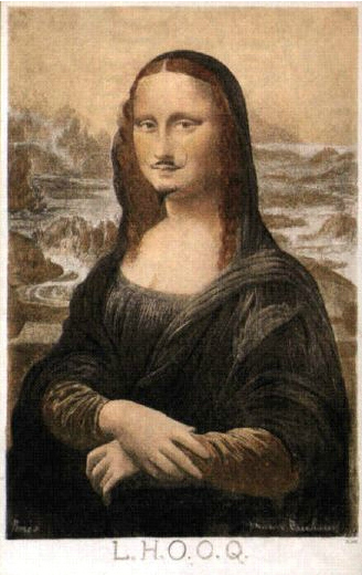 Marcel Duchamp L.H.O.O.Q.