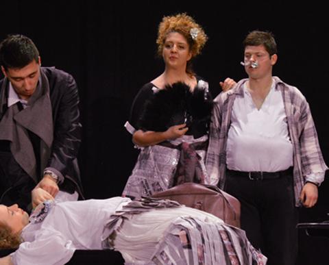 Studenti Akademije lepih umetnosti zaigrali na daskama Sterijinog pozorja