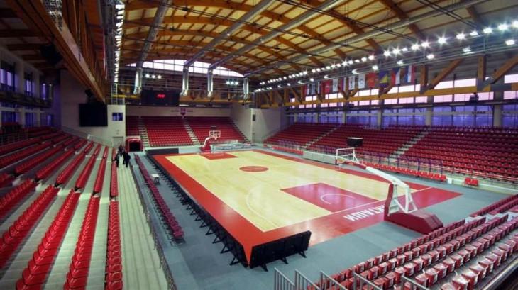 Unutrašnji prostor Sportske dvorane Laktaši