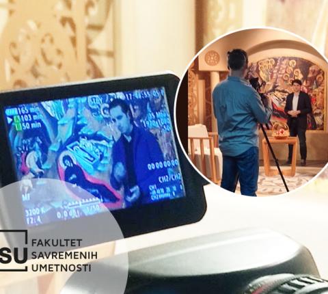 """Studenti recitovali misli Vladike Nikolaja na TV """"Hram"""""""