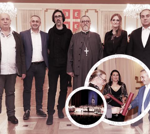 FSU deo organizacije Novogodišnjeg koncerta Saborne crkve