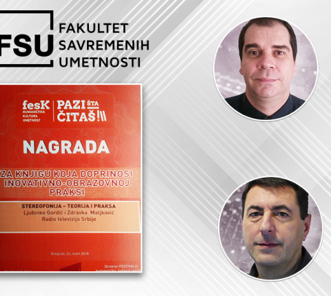 Profesori FSU dobili vrednu nagradu za svoju knjigu