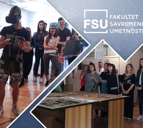 Izložba radova studenata FSU u dizajnerskoj školi