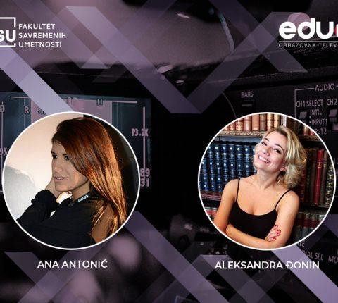 Aleksandra Đonin i Ana Antonić pobednice zajedničkog konkursa FSU i eduTV