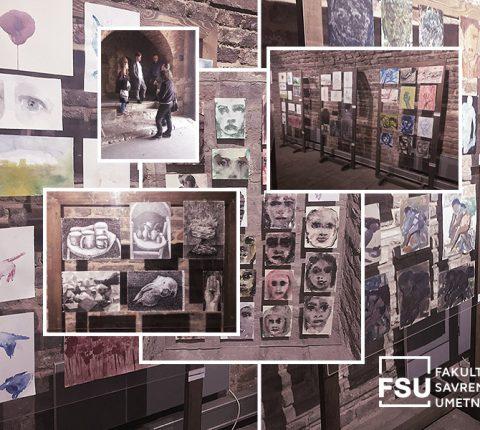 """Radovi studenata slikarstva sa FSU u galeriji Stambol kapije: Otvorena izložba """"Vreme novih sadržaja"""""""