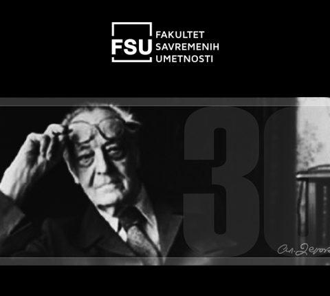 Profesor FSU na obeležavanju 30 godina od smrti Aleksandra Deroka