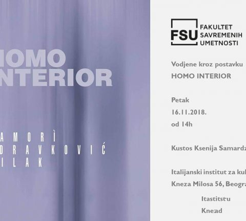 "Kustos Ksenija Samardžija vodi vas kroz postavku izložbe ""Homo Interior"""