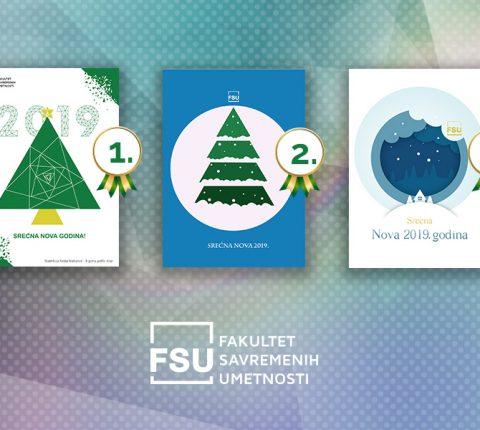 Izabrana pobednička novogodišnja čestitka studenata FSU