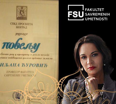 """Profesorka Đurović dobila značajnu nagradu – """"Povelja Prosvjete"""""""