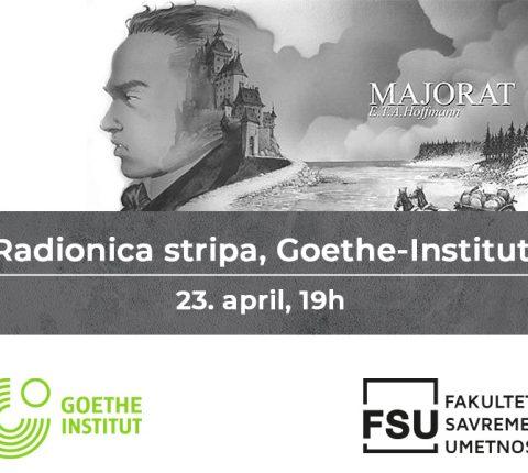 Radionica stripa na Goethe-Institutu 23. aprila