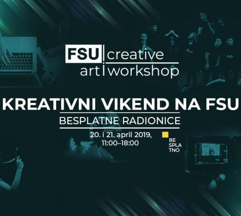Dođite na besplatne kreativne vikend-radionice za srednjoškolce na FSU