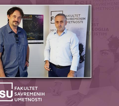 """Fakultet savremenih umetnosti i """"Tangram"""" postali partneri"""
