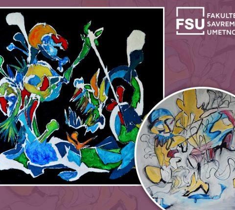 Izložba doktora umetnosti sa FSU, Miloša Vujića u Galeriji ULUS