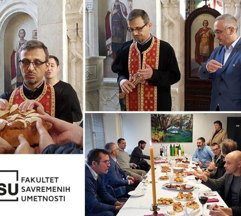 FSU proslavio krsnu slavu – Aranđelovdan