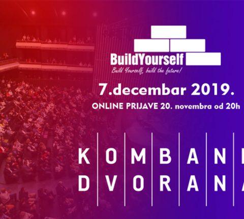 """Seminar """"Build Yourself"""" u Kombank dvorani 7. decembra"""