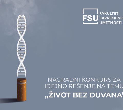 "Konkurs Instituta ""Batut"" za idejno rešenje plakata na temu ""Život bez duvana"""