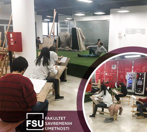 Zavirite na FSU besplatnu školu crtanja