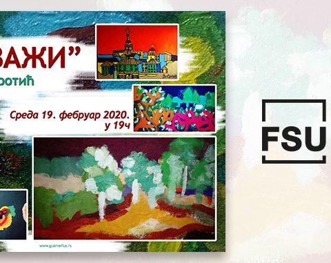 """Izložba """"Pejzaži"""" studentkinje FSU u galeriji """"Guarneriusa"""" od 19. februara"""