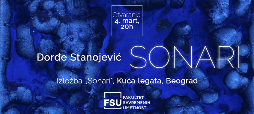 Izložba Sonari Đorđe Stanojević