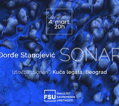 """Izložba """"Sonari"""" Đorđa Stanojevića 4. marta u Kući legata"""