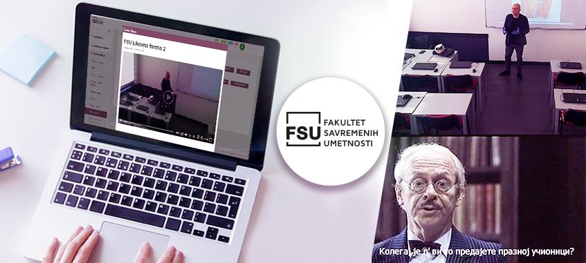 prva nedelja online nastave na FSU