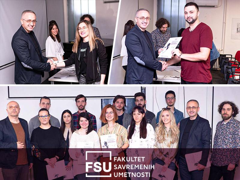 najuspešniji studenti FSU sa profesorima